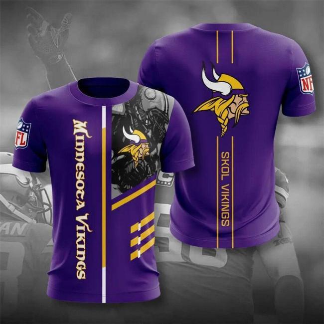 Minnesota Vikings Football Jersey (#A56)