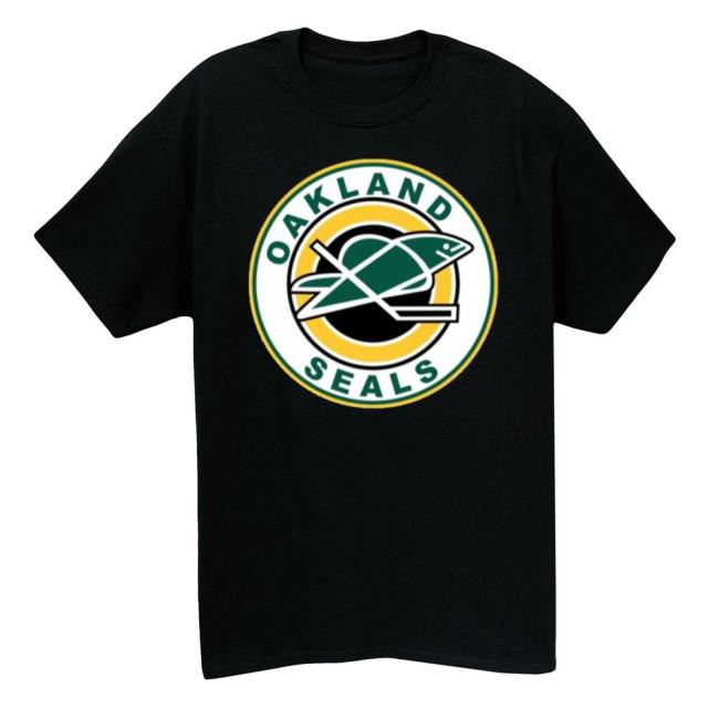Oakland Seals Hockey T-shirt (#L77)