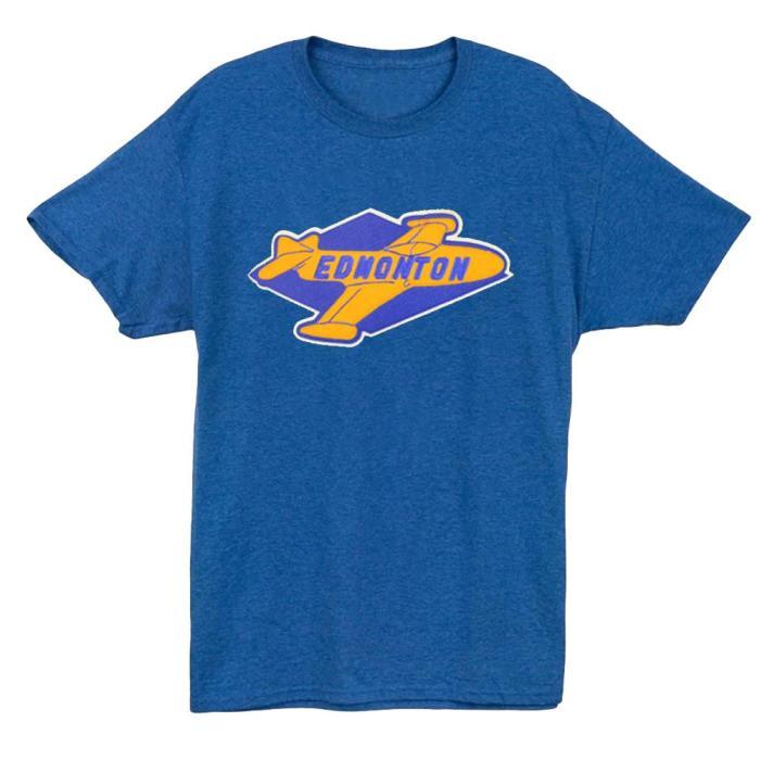 Edmonton Flyers Hockey T-shirt(#520)