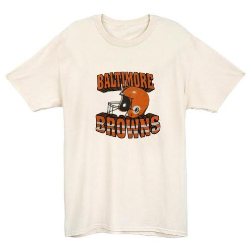 Baltimore Browns 1995  Football Vintage T-shirt(#846)