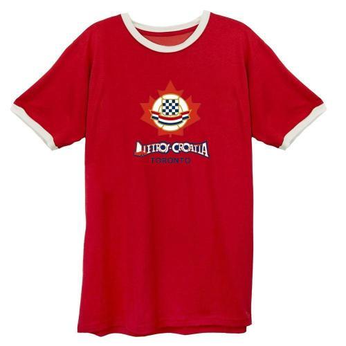 Toronto-Metros Croatia 1975 Soccer T-shirt(#C75)