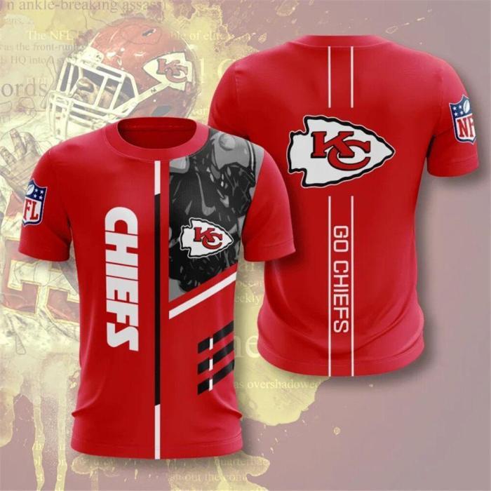 Kansas City Chiefs Football Jersey (#A66)