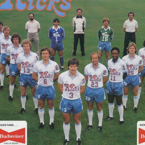 1976 Minnesota Kicks Soccer Tee-#C96