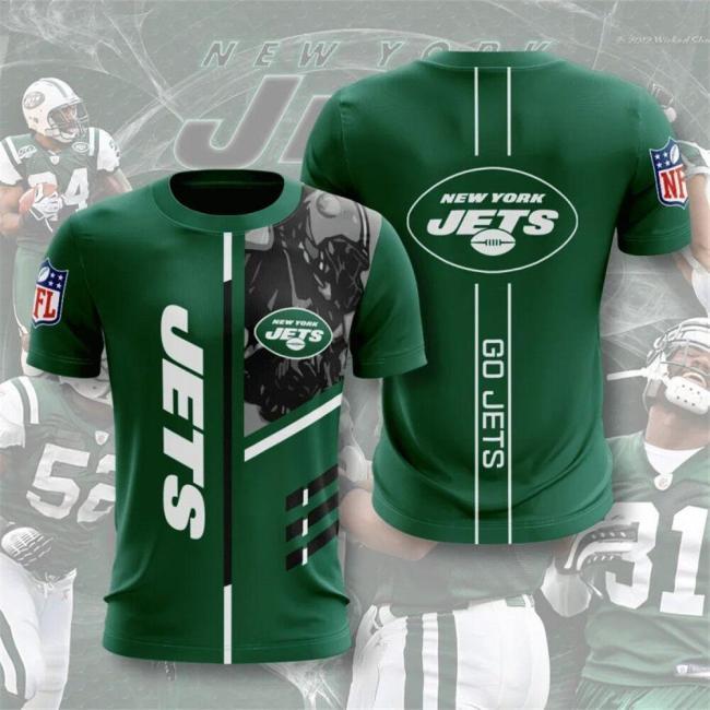 New York Jets Football Jersey (#A62)