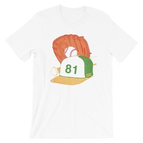 1981 Ballcap Baseball T-shirt(#661)