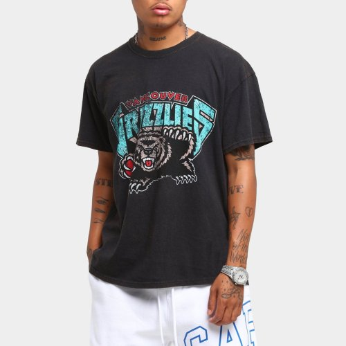 Vancouver Grizzlies Unisex Oversized Logo Vintage T-Shirt (#U84)