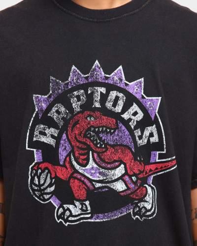 Toronto Raptors Unisex Oversized Logo Vintage T-Shirt (#U82)