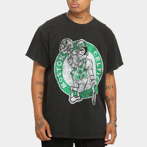 Boston Celtics Unisex Oversized Logo Vintage T-Shirt (#U70)