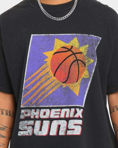 Phoenix Suns Unisex Oversized Logo Vintage T-Shirt (#U69)