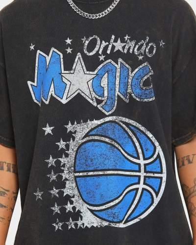 Orlando Magic Unisex Oversized Logo Vintage T-Shirt (#U74)