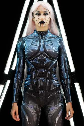 Hot Cosplay Costume Women Bodysuit (#T86)