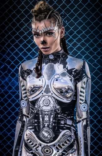 Hot Cosplay Costume Women Bodysuit (#T88)