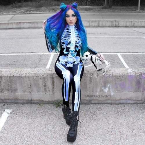 Hot Cosplay Costume Women Bodysuit (#T87)