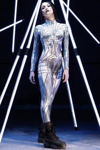 Hot Cosplay Costume Women Bodysuit (#W58)