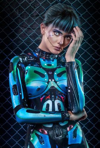 Hot Cosplay Costume Women Bodysuit (#X63)