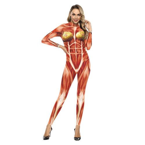 Hot Cosplay Costume Women Bodysuit (#X61)
