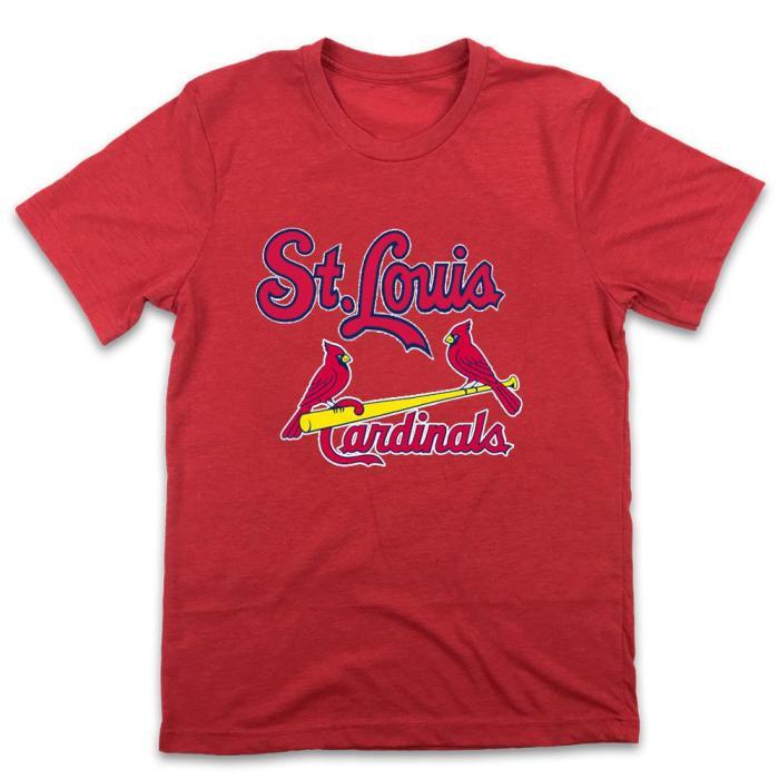 St. Louis Cardinals 1948 Vintage Baseball T-Shirt(#Y11)