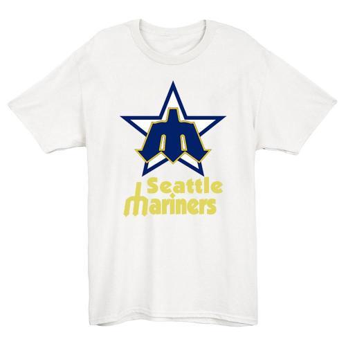 Seattle Mariners 1981 Vintage Baseball T-Shirt(#Y45)