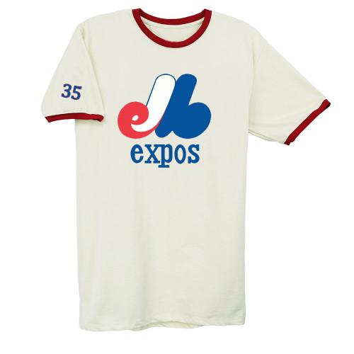 Montreal Expos Vintage Baseball T-Shirt(#Y50)