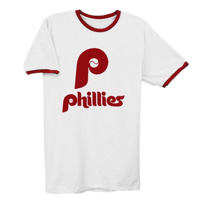 Philadelphia Phillies 1970 Vintage Baseball T-Shirt(#Y52)