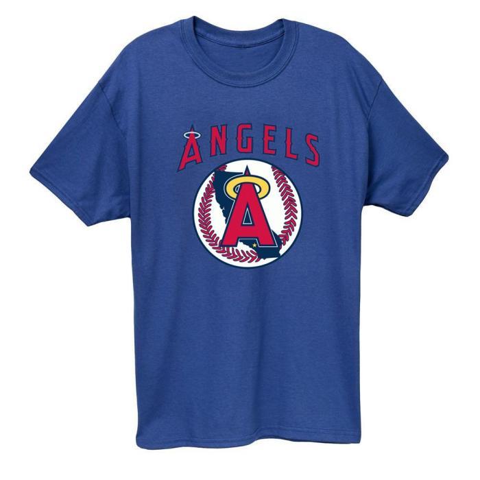 Los Angeles Angels 1986 Vintage Baseball T-Shirt(#Y48)