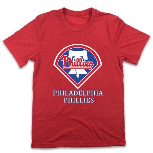 Philadelphia Phillies 1980 Vintage Baseball T-Shirt(#X99)