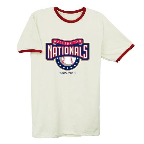 Washington Nationals Vintage Baseball T-Shirt(#Y04)