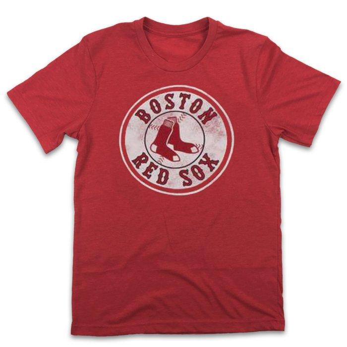Boston Red Sox Vintage Baseball T-Shirt (#Y96)