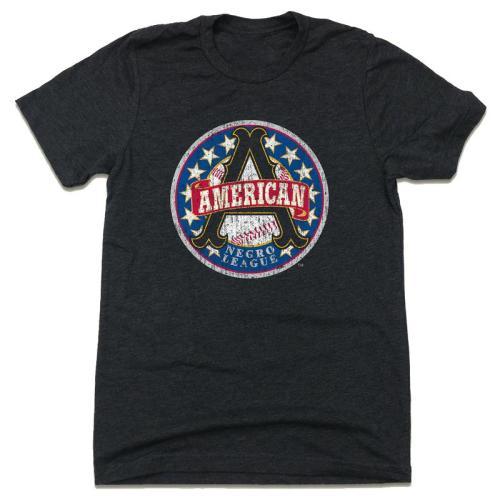 Negro American League Vintage Baseball T-Shirt (#Z01)