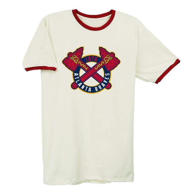 Atlanta Braves 1987 Vintage Baseball T-Shirt(#0A95)