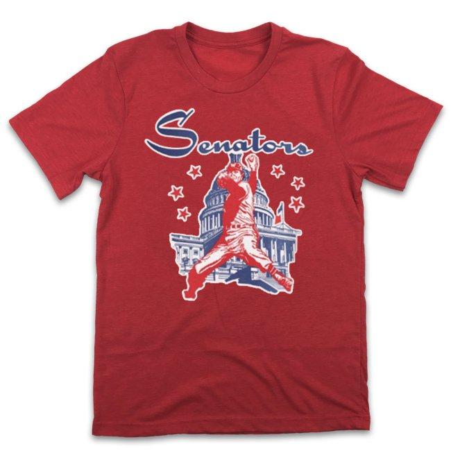 washington Senators 1961 Vintage Baseball T-Shirt (#Y98)