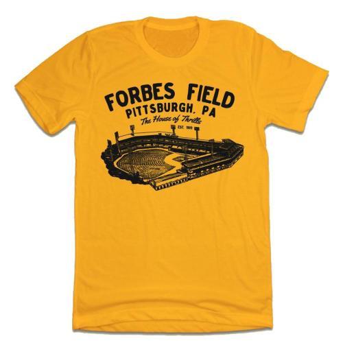 Forbes Field Vintage Baseball T-Shirt (#Z02)