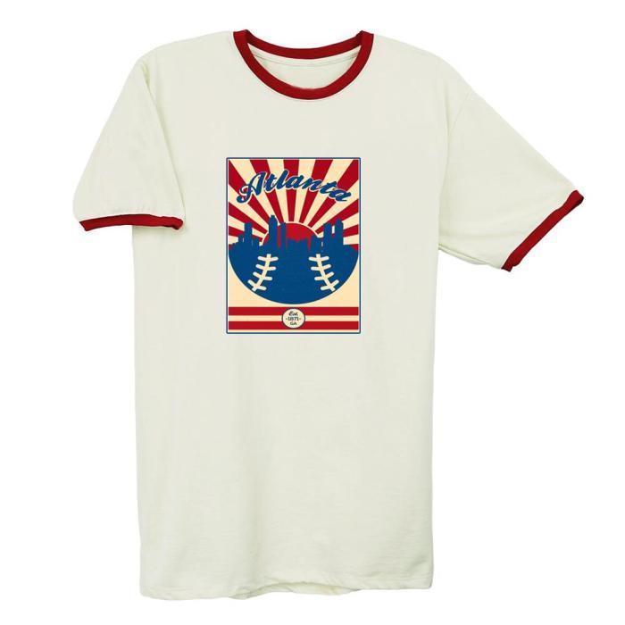Atlanta Braves 1871 Vintage Baseball T-Shirt(#0A94)