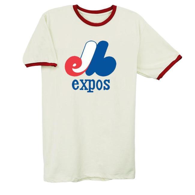 Montreal Expos Vintage Baseball T-Shirt (#Z04)