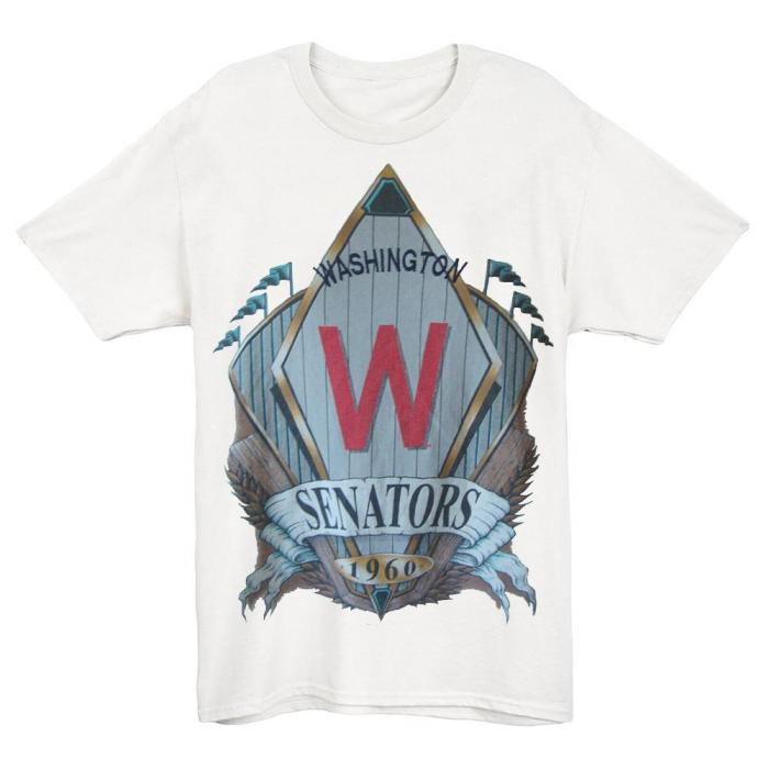 washington Senators 1960 Vintage Baseball T-Shirt (#Y97)