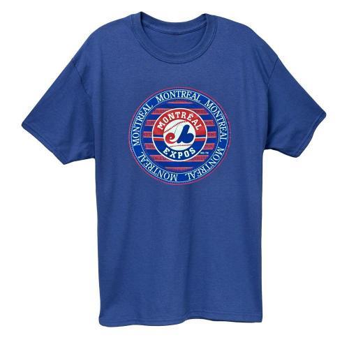 Montreal Expos Vintage Baseball T-Shirt(#0A99)