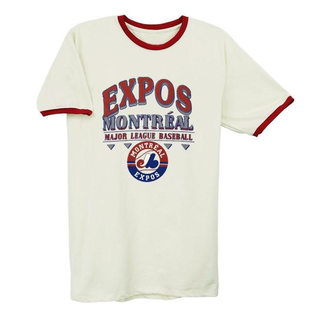 Montreal Expos Vintage Baseball T-Shirt(#0A93)
