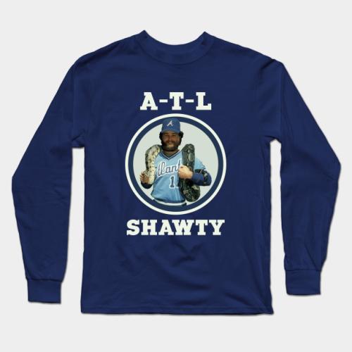 ATL Shawty Baseball Long Sleeve T-Shirt (#Z12)
