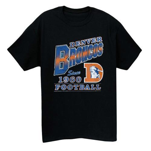 1960 Denver Broncos Vintage T-shirt(#M26)