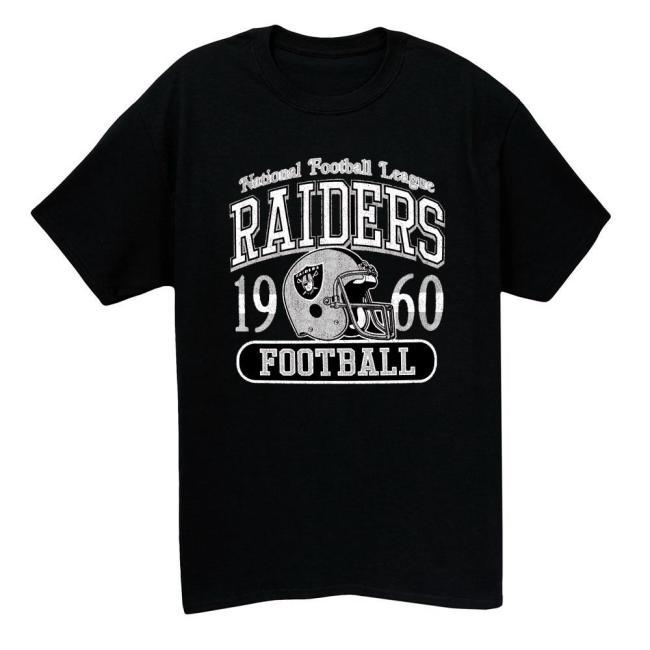 1960 Raiders Vintage T-shirt(#L91)