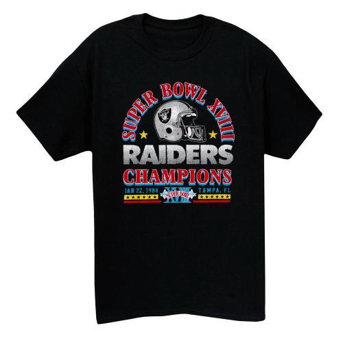 1984 Raiders Vintage T-shirt(#L98)
