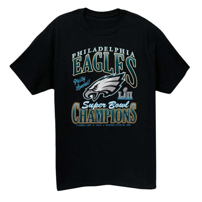 2018 Philadelphia Eagles Vintage T-shirt(#M30)