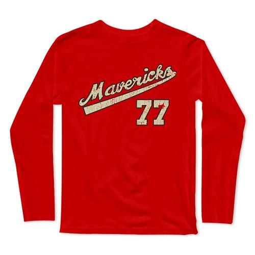 Portland Mavericks Baseball Long Sleeve T-Shirt(#0F26)