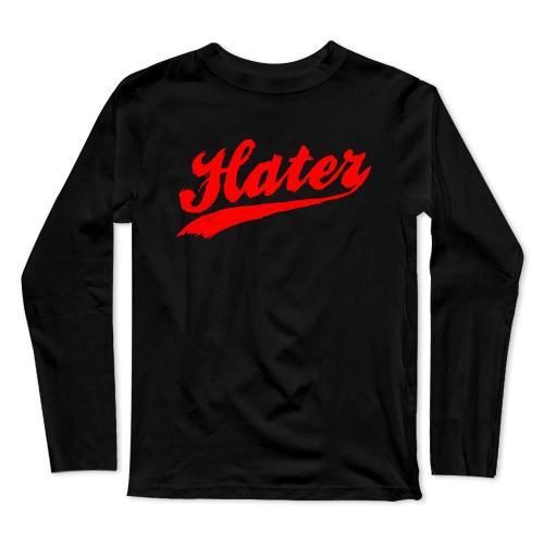 Team Hater Baseball Long Sleeve T-Shirt(#0F51)