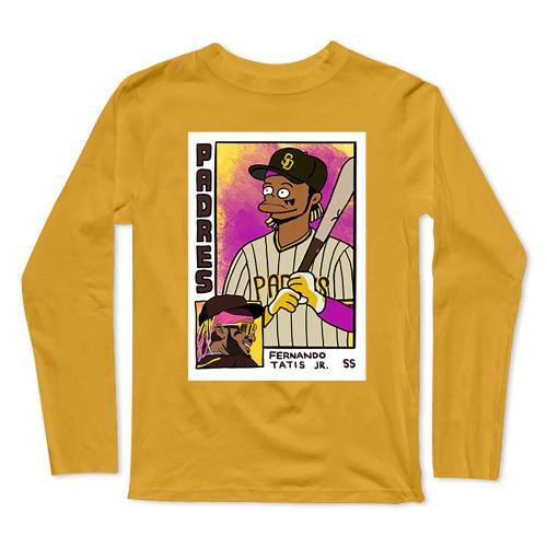 Fernando Tatis Jr Baseball Long Sleeve T-Shirt(#0F40)