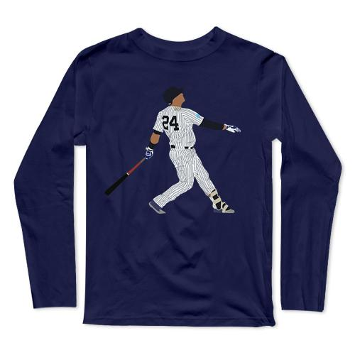 Gary Sanchez Baseball Long Sleeve T-Shirt(#0F52)