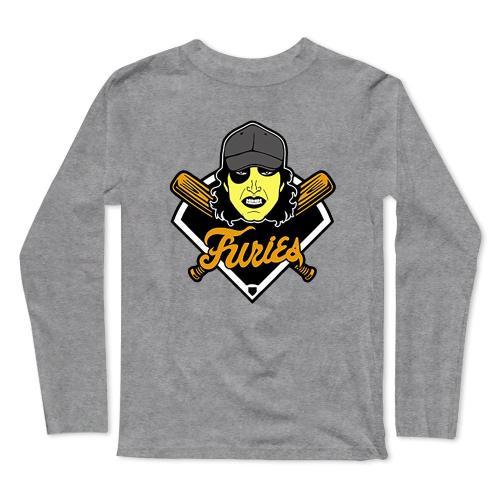 Furies Movies Baseball Long Sleeve T-Shirt(#0F35)