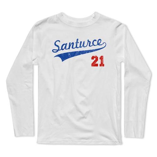 Santurce 21 Puerto Rican Baseball Long Sleeve T-Shirt(#0F49)