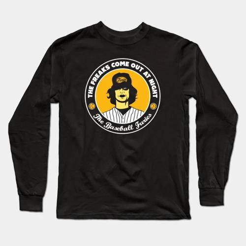 Furies - The Warriors Baseball Long Sleeve T-Shirt(#0F82)