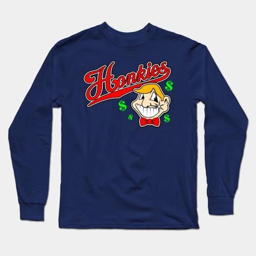 Caucasians Baseball Long Sleeve T-Shirt(#0F83)
